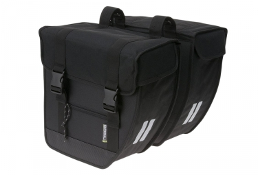 Basil Tour XL Double Bike Bag Black