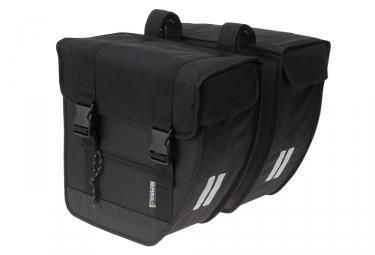 sacoche double de porte bagage basil tour xl noir