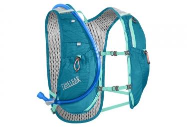 sac a dos camelbak circuit vest bleu turquoise