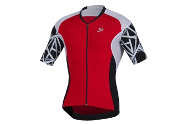 Maillot Manches courtes SPIUK Elite Rouge