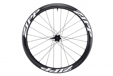 Roue avant zipp 303 firecrest tubeless disc 650b 9 12 15x100mm stickers blanc