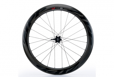 Roue avant zipp 404 v2 boyau disc 9 12 15x100mm stickers noir
