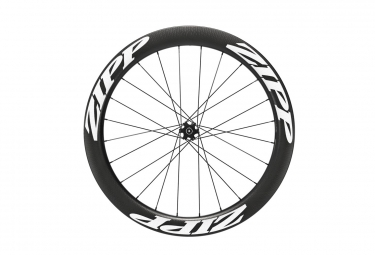 Roue avant zipp 404 v2 tubeless disc 9 12 15x100mm stickers blanc