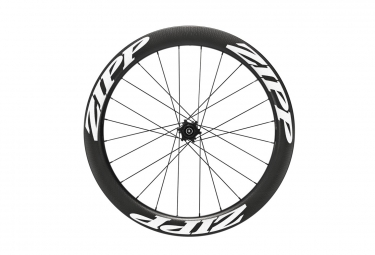 roue arriere zipp 404 tubeless disc 9 12x135 142mm corps campagnolo stickers blanc