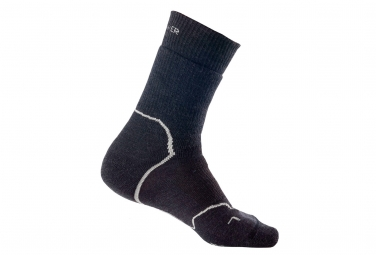 Icebreaker Hike+ Medium Crew Socks Black