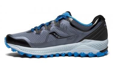 Chaussures de Trail Saucony Peregrine 8 Bleu / Gris