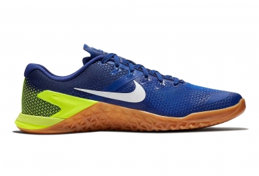 Nike Metcon 4 Blue Yellow