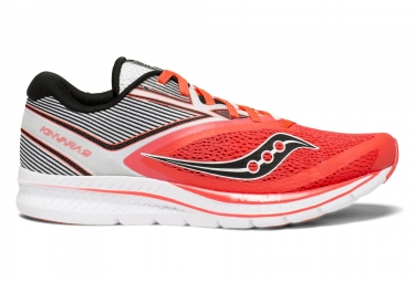 Saucony Kinvara 9 Women´s Shoes Red White Grey
