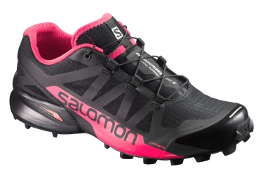 salomon speedcross pro 2 noir rose 37 1 3