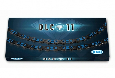 KMC DLC11 Chain 116 Links Black/Red