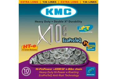 chaine kmc x10e ept 136 maillons vae