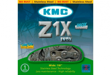 KMC Z1X Chain 112 Links Grey