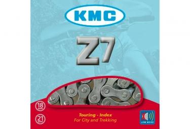Chaine kmc z7 116 maillons marron gris