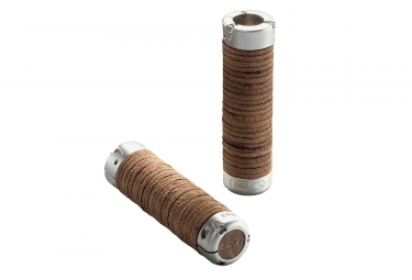 Brooks Plump Leather Grips 130-130 mm Antic Brown