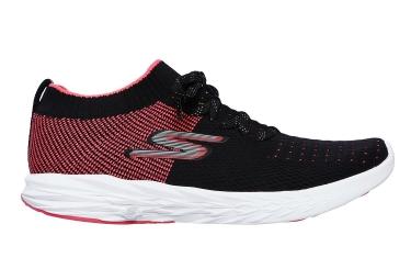 Zapatillas Skechers Go Run Ride 6 para Mujer Negro / Rosa