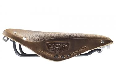 Brooks B17 Aged Saddle Dark Tan