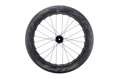 Roue arriere zipp 858 nsw carbon pneu disc 9x135 12x142 mm corps campagnolo