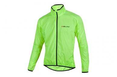 veste coupe vent nalini aria vert fluo l
