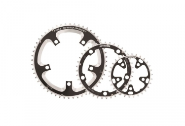 FSA Middle Road Chainrings 130BCD 39T for Triple Crankset 5 holes Black