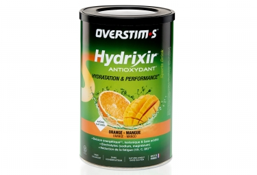 Boisson energetique overstims hydrixir antioxydant orange mangue 600g