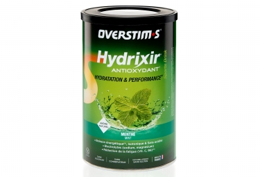 OVERSTIMS Energy Drink ANTIOXYDANT HYDRIXIR Mint 600g