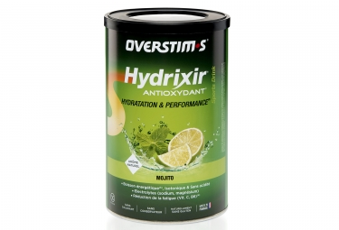 Boisson energetique overstims hydrixir antioxydant mojito 600g