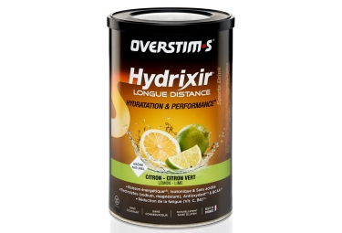 OVERSTIMS Energy Drink LONG DISTANCE HYDRIXIR Lemon - Lime 600g