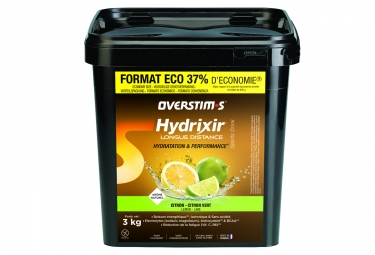 OVERSTIMS Energy Drink LONG DISTANCE HYDRIXIR Limone - Lime 3kg