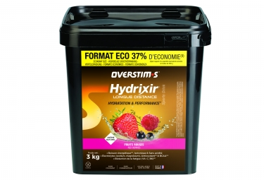 OVERSTIMS Energy Drink LONG DISTANCE HYDRIXIR Red Berries 3kg