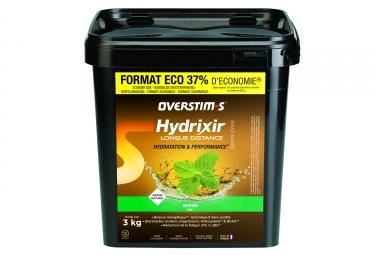 Boisson energetique overstims hydrixir longue distance menthe 3kg