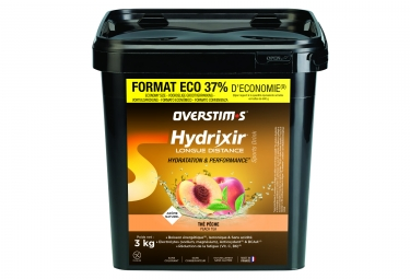 OVERSTIMS Hydrixir Longue Distance Energy Drink Peach Tea 3kg