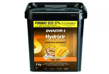 Boisson energetique overstims hydrixir longue distance mangue passion 3kg