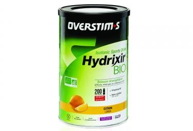 boisson energetique overstims hydrixir bio citron 500g