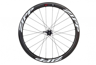 Roue arriere zipp 303 firecrest disc 9x135mm 12x142mm corps campagnolo stickers blanc