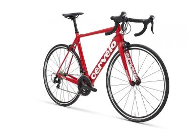 Bicicleta Cervélo R2 Shimano 105 5800 11V 2018 Rojo / Blanco