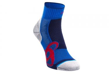 Paire de chaussettes odlo running bleu 36 38
