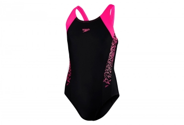 Speedo End Boom SPL Swimsuit Black Pink