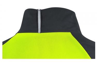 Veste Imperméable Gore Wear C5 Gore-Tex Noir Jaune