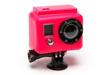 XSORIES Etui de Protection Silicon ROSE pour Camera GOPRO Hero et Hero2