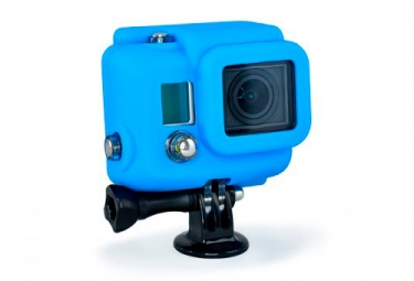 XSORIES Protection Silicone pour Hero 3 Bleu