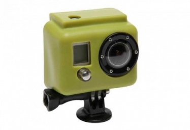 XSORIES Etui de Protection Silicon VERT pour Camera GOPRO Hero et hero2