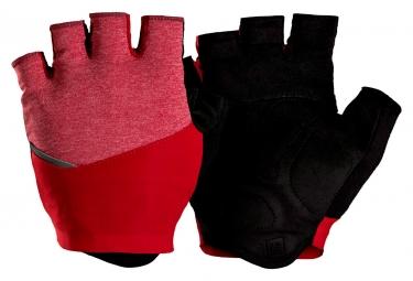 gants bontrager velocis rouge cobra m