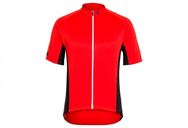 Maillot bontrager solstice rouge viper xs