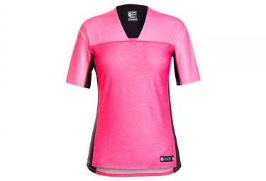 Maillot manches courtes femmes bontrager tario rose vice s
