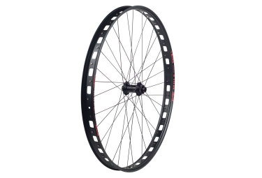 Sun Rims Mulefut 29'' Plus Front Wheel | 15x100 mm | Centerlock | Black Red