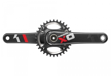 Pedalier sram xo1 dh bb30 83mm 32 dents rouge 165