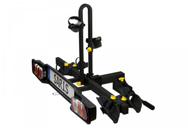 SARIS Hitch Bike Carrier FREEDOM 2-Bike Black