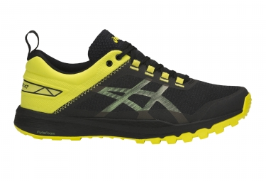 Chaussures running asics gecko xt noir jaune 45