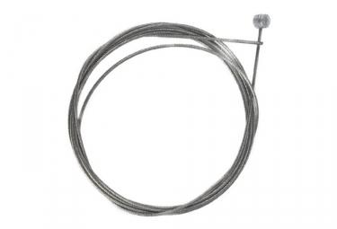 shimano cable de frein inox vtt ville o 1 6mm 2050mm