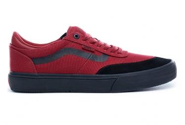 Chaussures vans gilbert crockett rouges noires 41